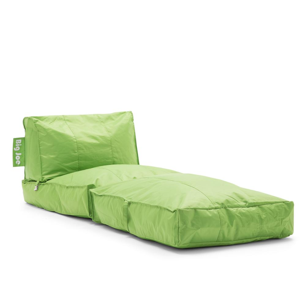 Big Joe Flip Lounger Spicy Lime Smartmax Bean Bag 0634185
