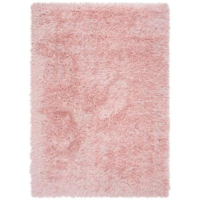 Pink Shag Area Rugs Rugs The Home Depot