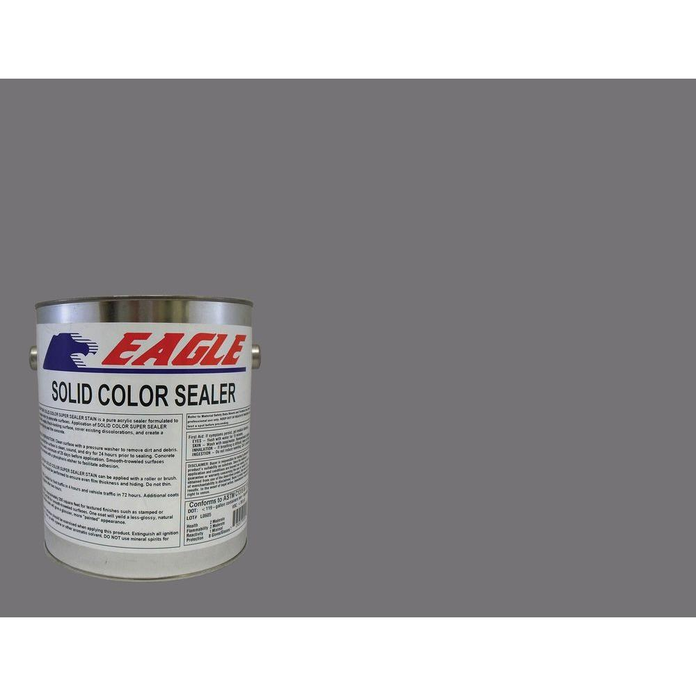 Eagle 1 gal. Pearl Gray Solid Color Solvent Based Concrete Sealer