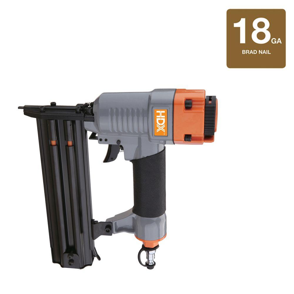 HDX Reconditioned Pneumatic 18-Gauge x 2 in. Brad Nailer-DISCONTINUED