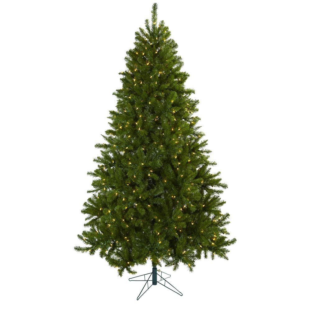 Nearly Natural 7.5 ft. Windermere Artifiicial Christmas T...