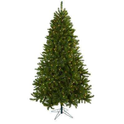 7.5 ft. Windermere Artificial Christmas Tree with Clear Lights