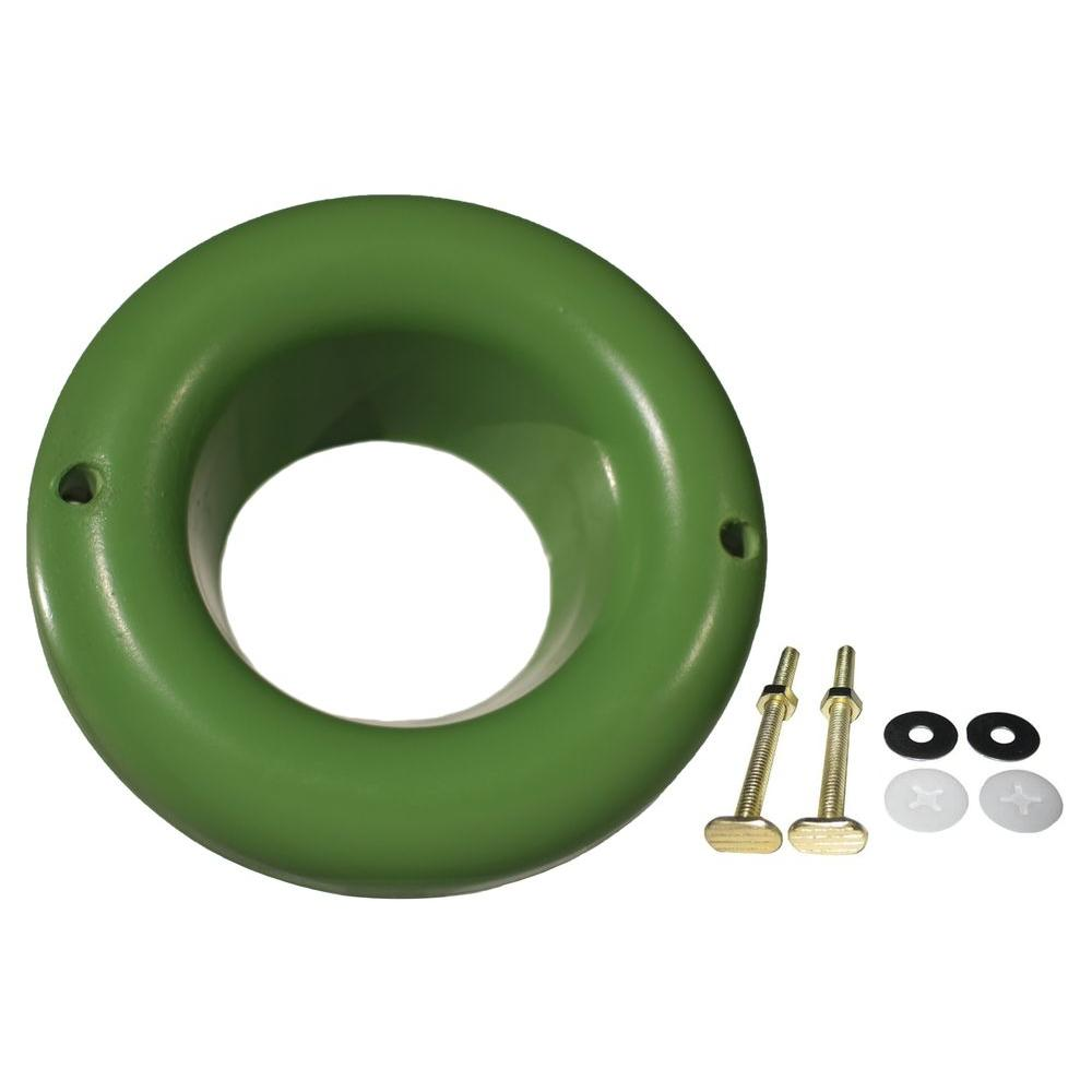 SANI SEAL TOILET GASKET Toilet Gasket Flexible Waxless Seal - Universal Fit