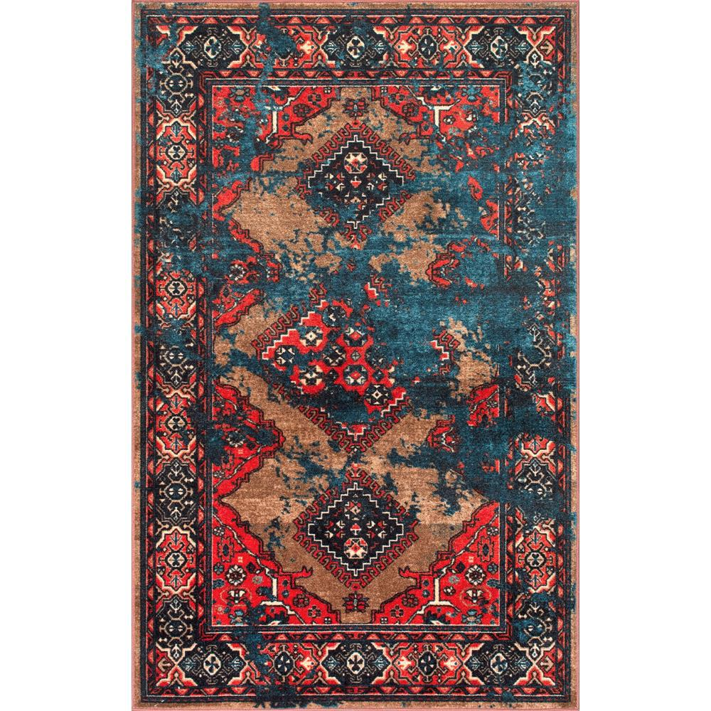 Nuloom Takisha Triangle Multi 9 Ft X 12 Ft Area Rug