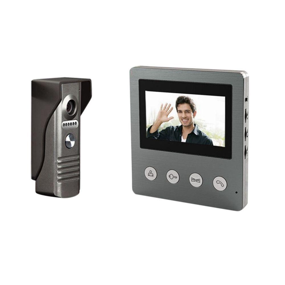 SeqCam 4.3 in. Video Door Phone