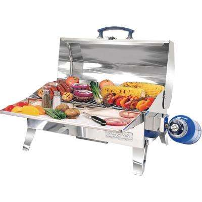 Cabo Adventurer Portable Propane Gas Grill in Stainless Steel