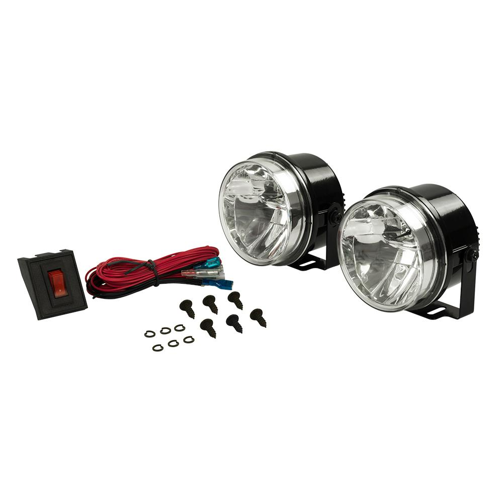 4 in. LED Round High Performance Driving Light Kit