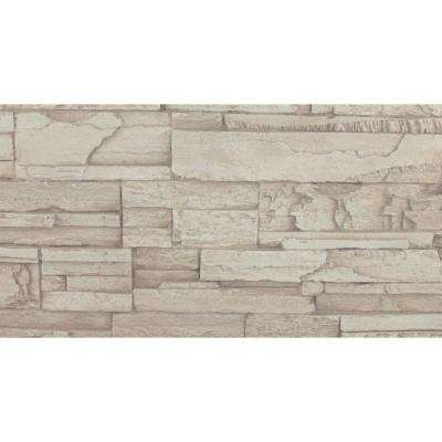 Creamy Beige 8 in. x 8 in. x 3/4 in. Faux Tennessee Stone Sample