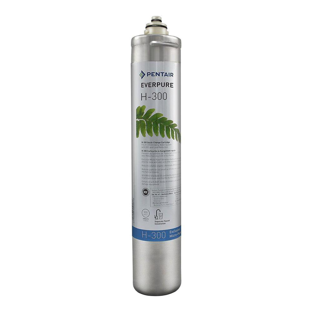 Everpure H-300 Under Sink Replacement Water Filter Cartridge