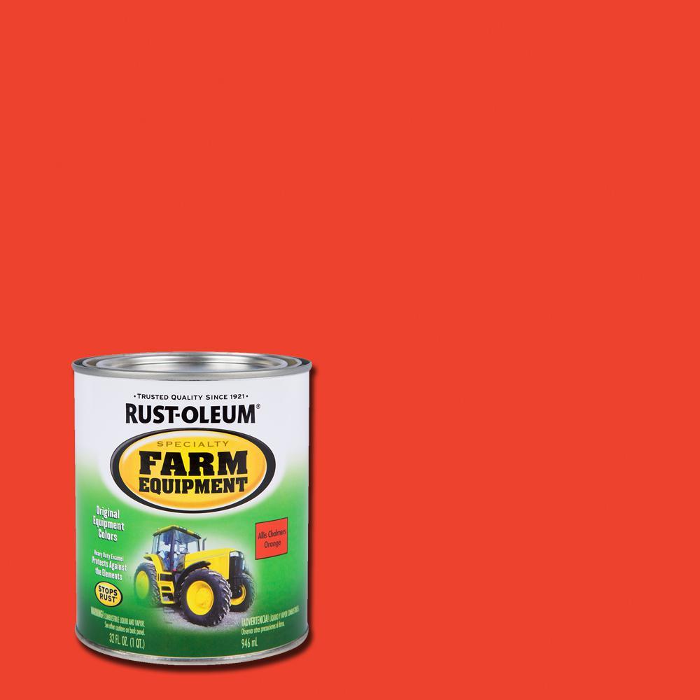Rust Oleum Specialty 1 Qt Farm Equipment Allis Chalmers