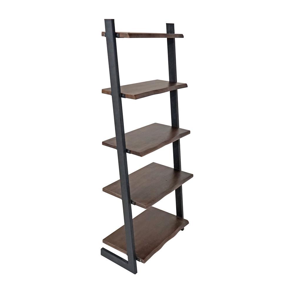 Sornora Brown Ladder Bookcase