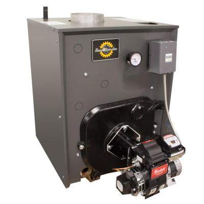 RRO 87% AFUE Heating Oil Hot Water Boiler with Coil and 80,000 BTU - 106,000 BTU Output