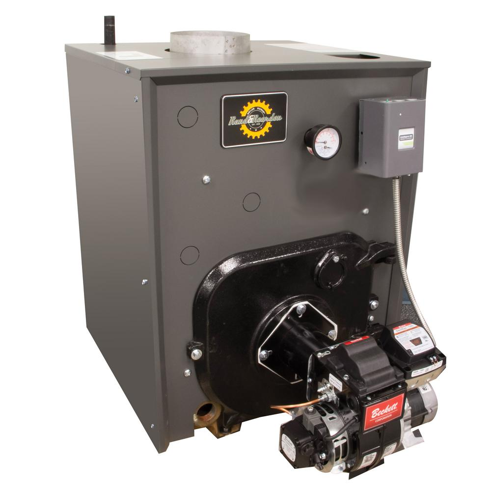 Efficient home oil burners - Rand Reardon Rro Series 84 Afue Oil Water Boiler With Coil And 131 000 156 000 Btu Output Rr0179c The Home Depot
