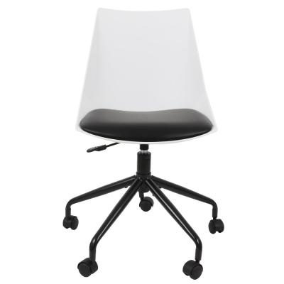 Maisel Black and White Task Chair