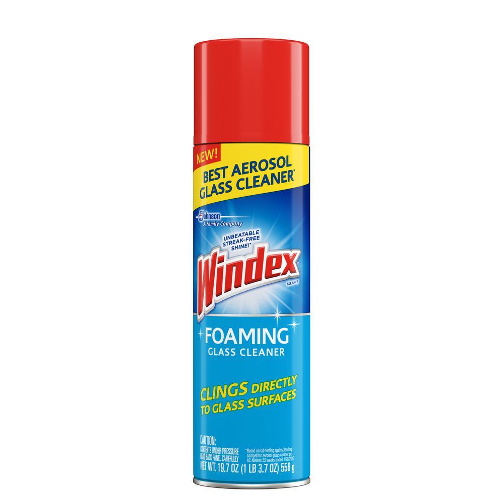 Windex Windex 19.75 oz. Foaming Aerosol Glass Cleaner