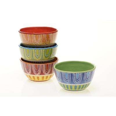 Tapas Ice Cream and Cereal Bowl (Set of 4)