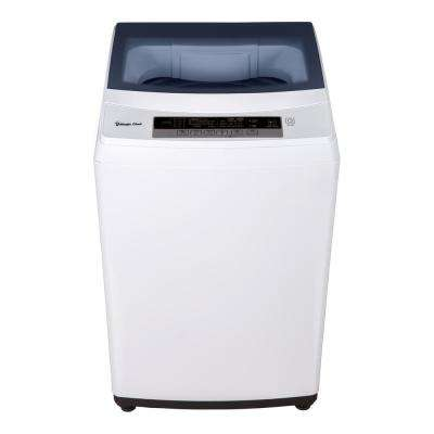 2.0 cu. ft. Compact Top Load Washing Machine in White, Portable with  Stainless Steel Tub