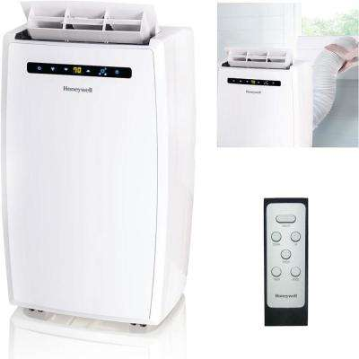 10,000 BTU, 115-Volt Portable Air Conditioner with Dehumidifier and Remote Control in White