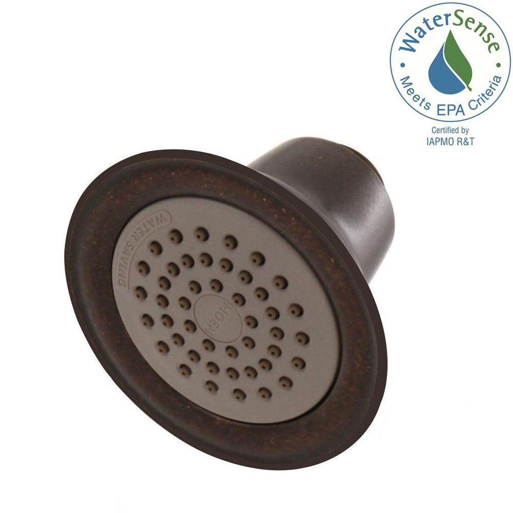 Eco-Performance Easy Clean XLT 1-Spray 3-3/8 in. Showerhead in Oil Rubbed