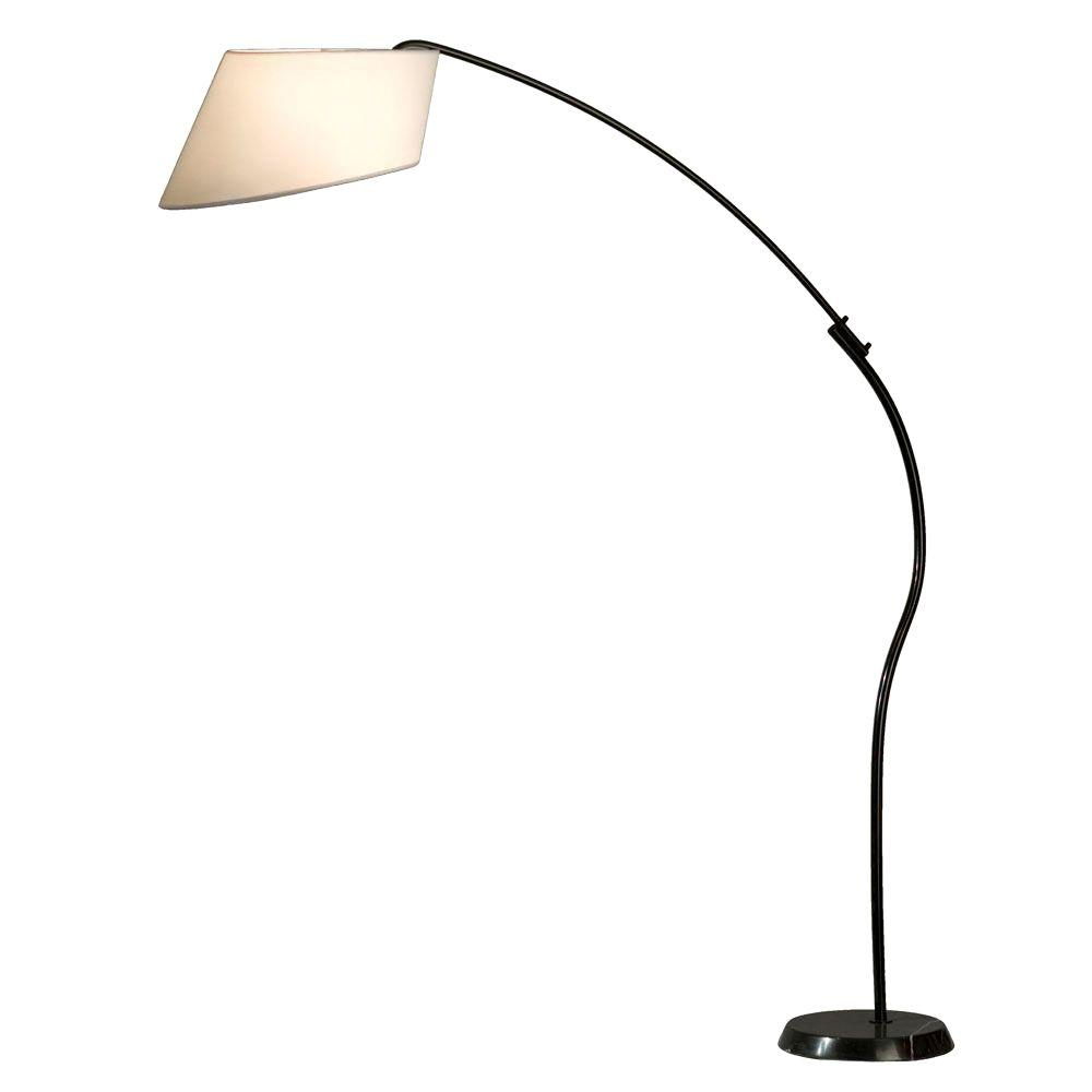 NOVA Ibis 85 in. White Arc Lamp