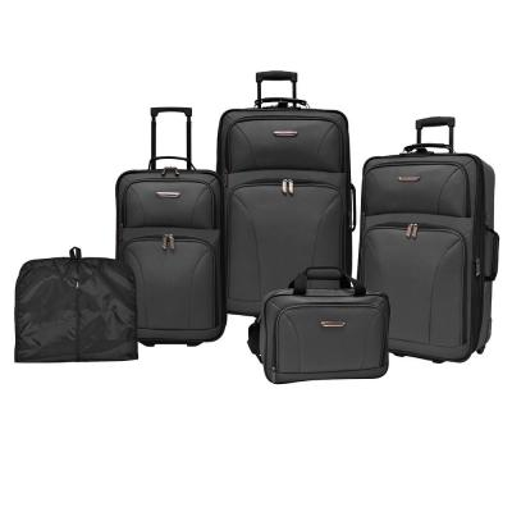Traveler's Choice TC0835 5-Piece Luggage Set