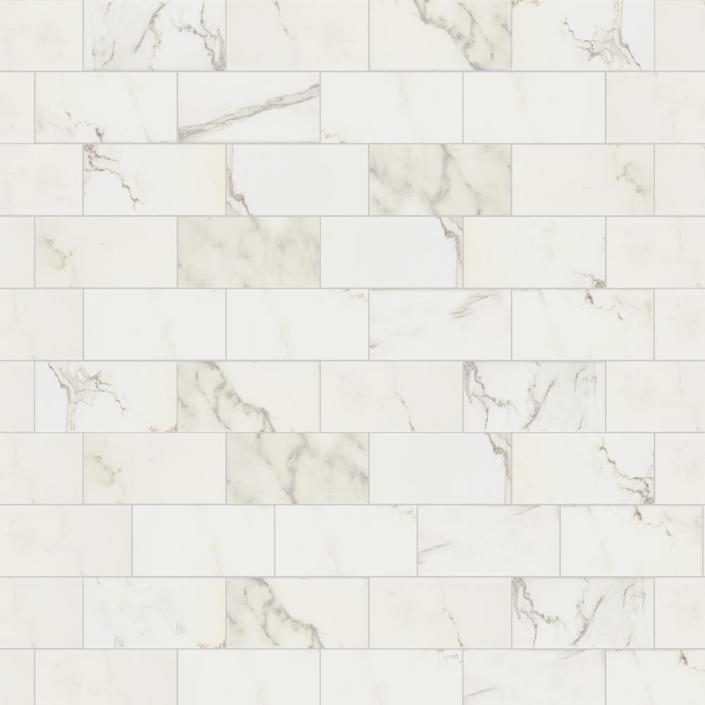 - Marazzi Developed By Nature Calacatta 3 In. X 6 In. Glazed Ceramic