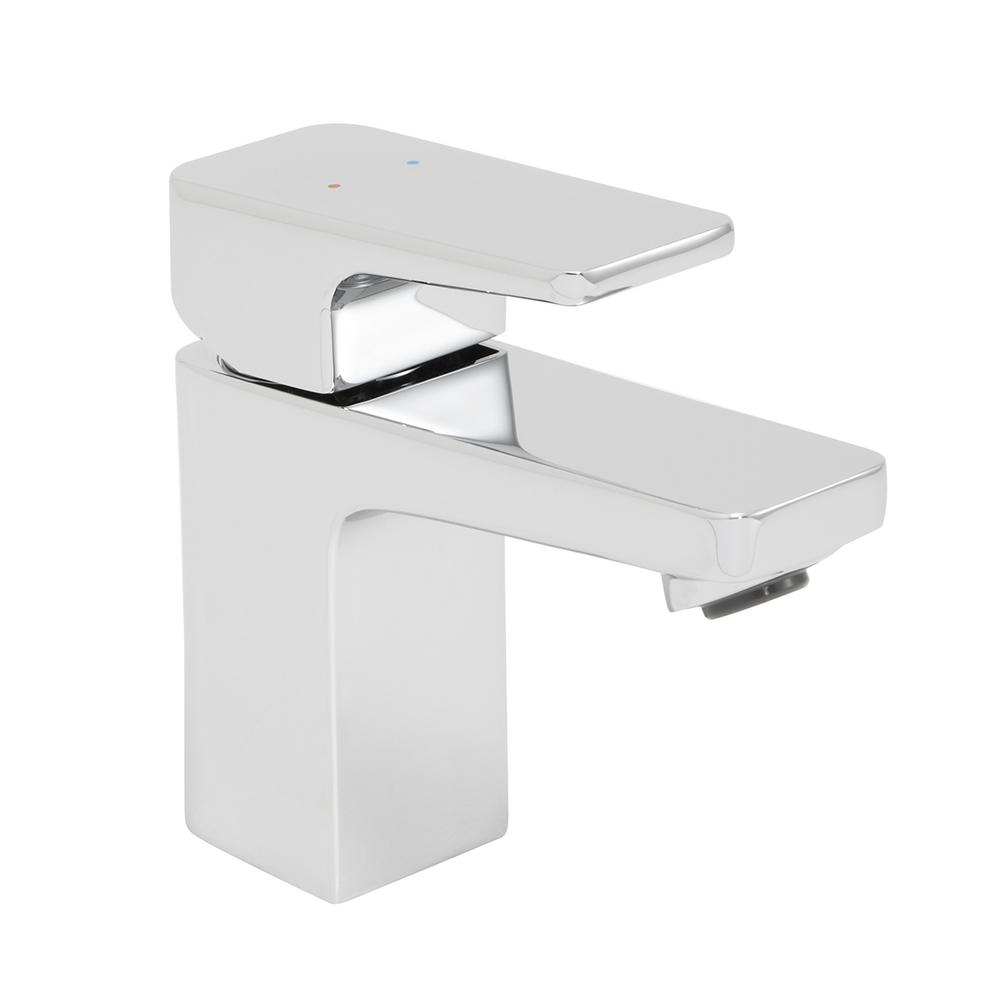 Speakman Kubos Single Hole Single-Handle Bathroom Faucet with Drain Assembly in Polished Chrome