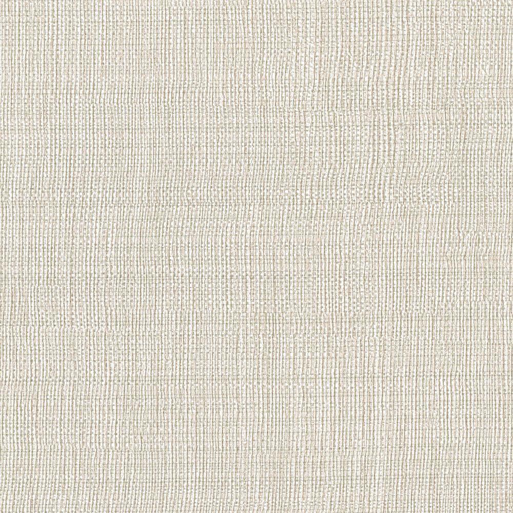 Brewster Beige Linen Texture Wallpaper Sample 3097 47sam