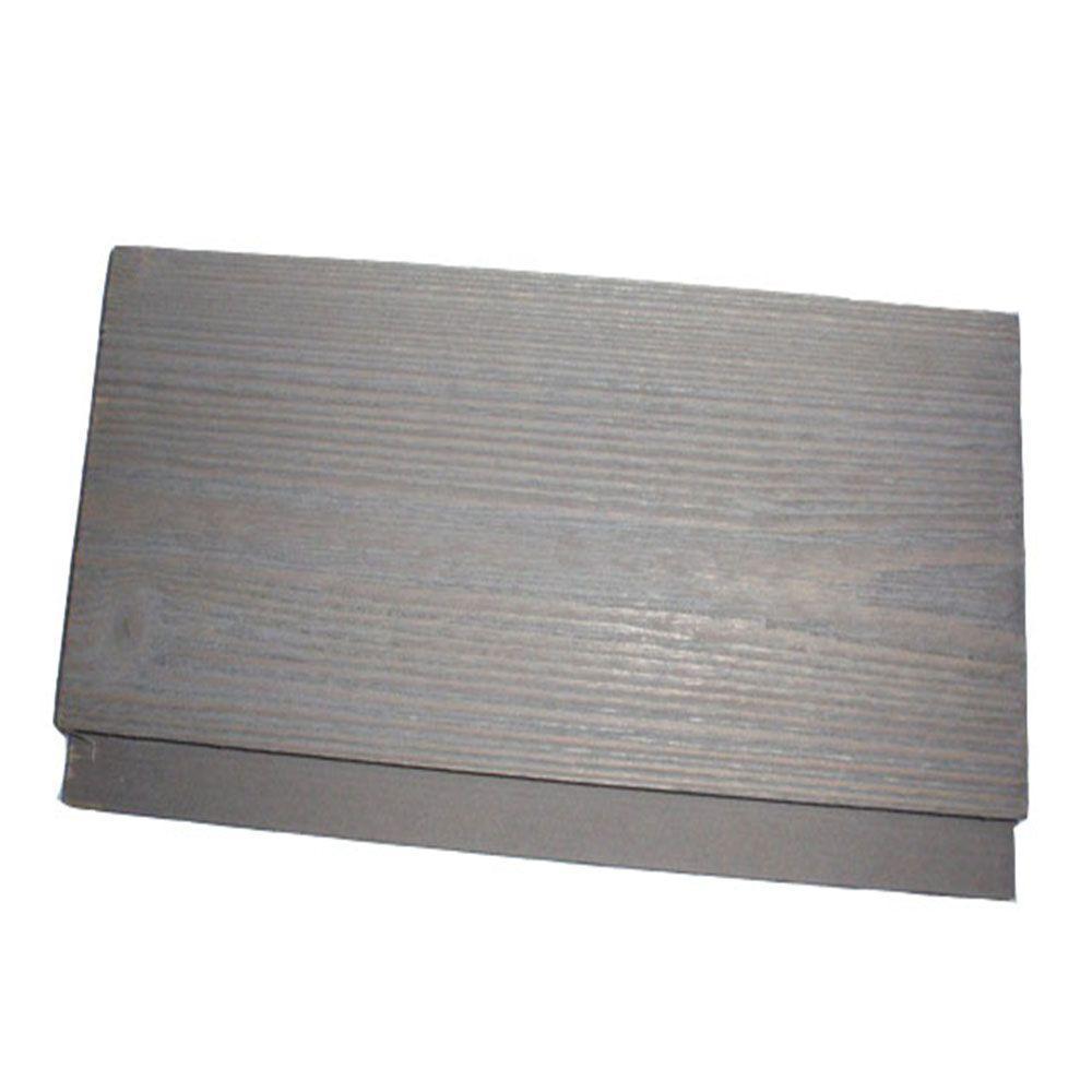 0d415bdb764 1 in. x 6 in. x 8 ft. Barn Wood Grey Pine Shiplap Board (6-Piece Box ...