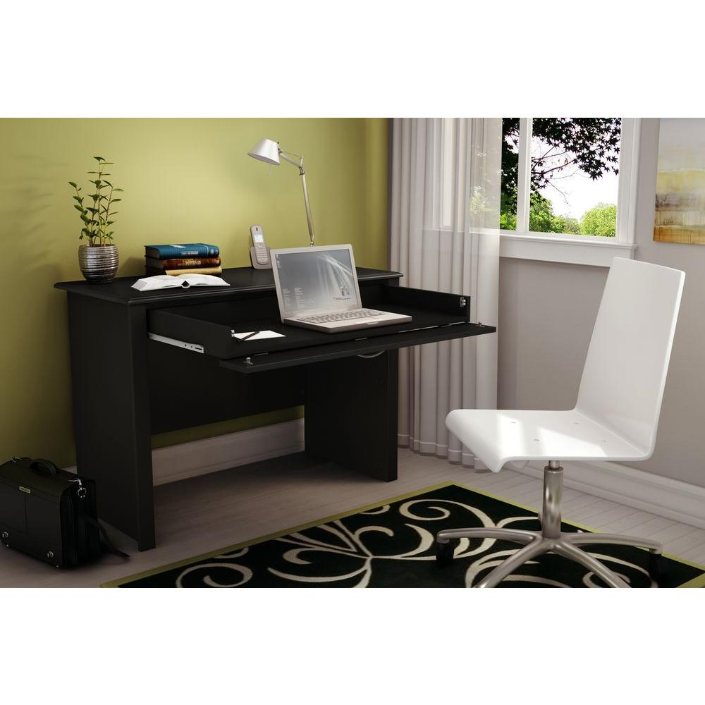 Work ID Solid Black Workstations, Pure Black