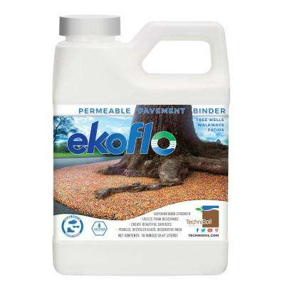 16 oz. EkoFlo Permeable Pebble Binder Bottle