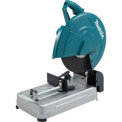 15 Amp 14 in. Cut-Off Saw with Tool-Less Wheel Change