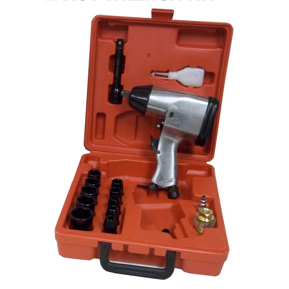 1/2 in. Air Impact Wrench Kit (17-Piece)