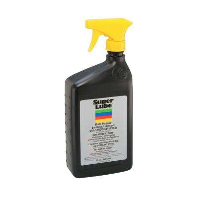 1 Qt. Bottle Super Lube Multi-Purpose Synthetic Oil with Syncolon (PTFE) Non-Aerosol Pump