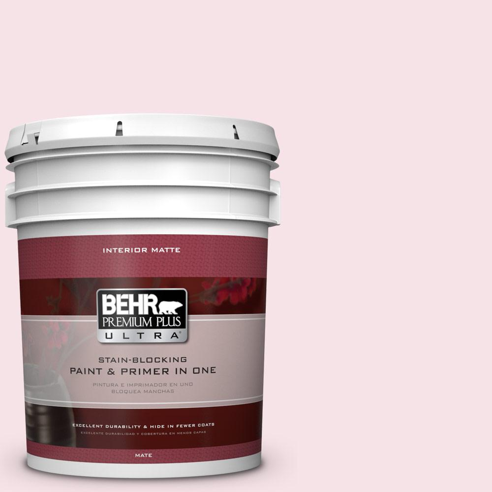 5 gal. #100C-1 Cupid Arrow Flat/Matte Interior Paint