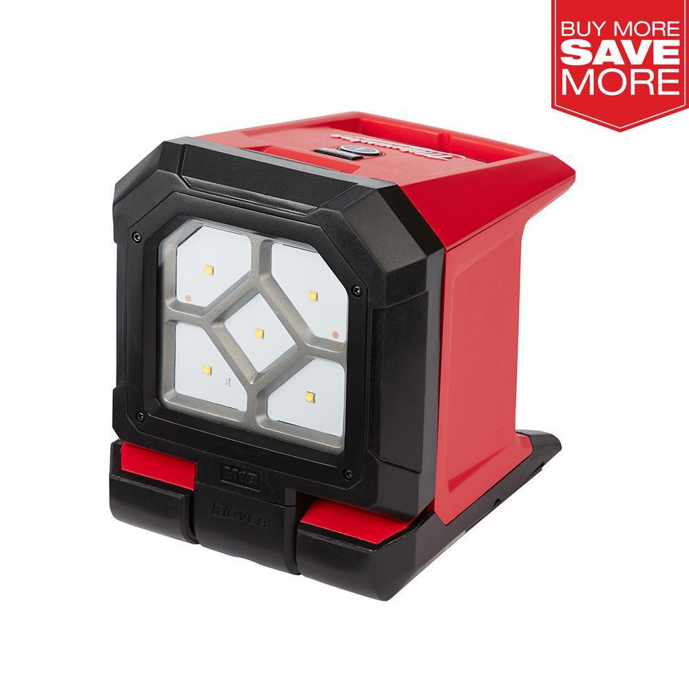 Cordless LED Lantern Flood Work Light 700 Lumens 18V Li Ion Battery Bare Tool