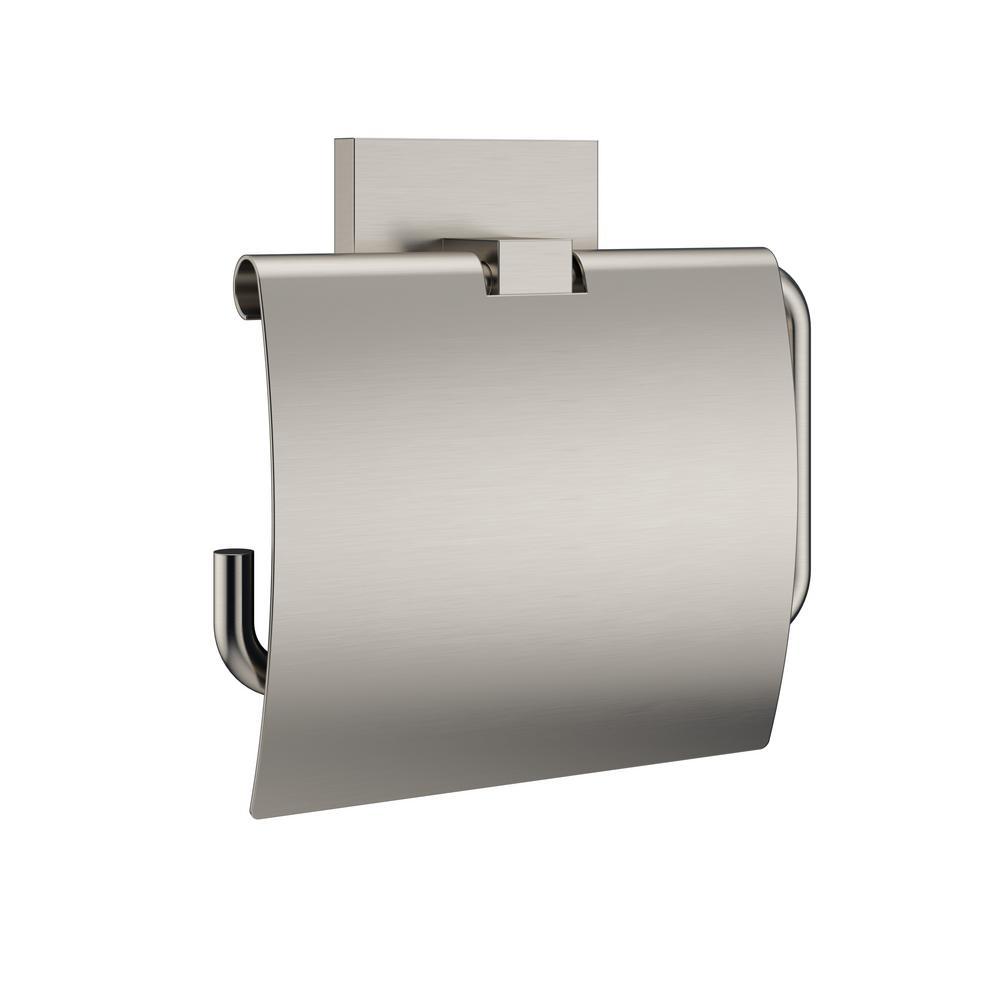 MINCIO Tissue Holder in Brushed Nickel