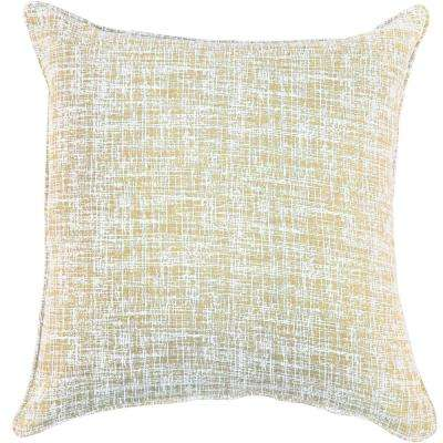 American Colors Wheat Texture design Pillow