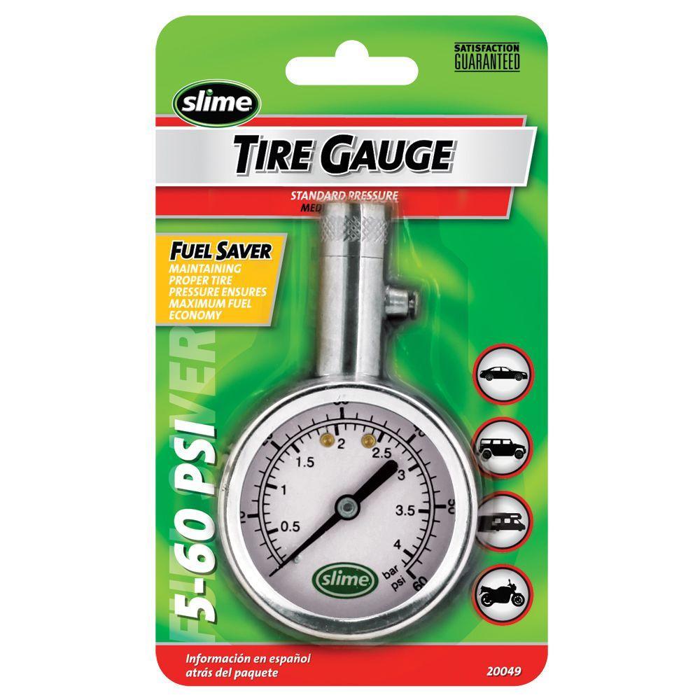 5-60 psi Chrome Dial Gauge