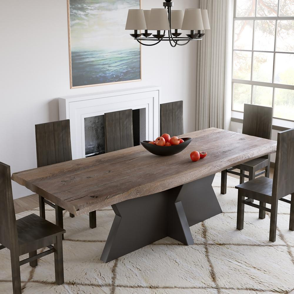 Yosemite Home Decor Natural Dining Table Yfur Rc028us