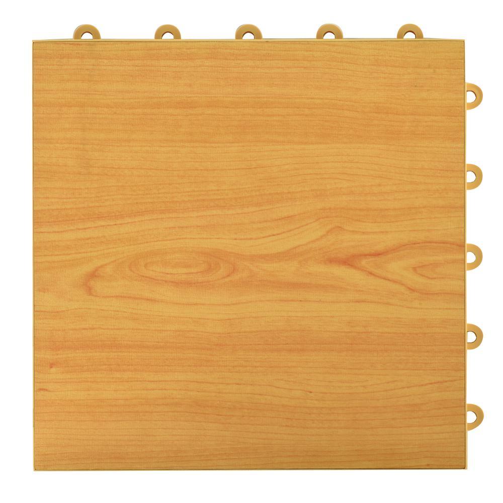 Greatmats Click Tile 12-1/8 In. X 12-1/8 In. Maple