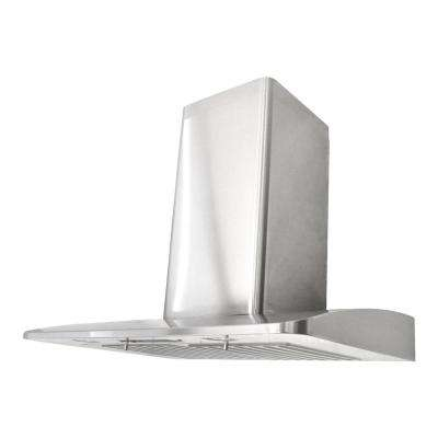 30 in. 750 CFM Wall Mounted Range Hood in Stainless Steel with LED Lights and QuietMode