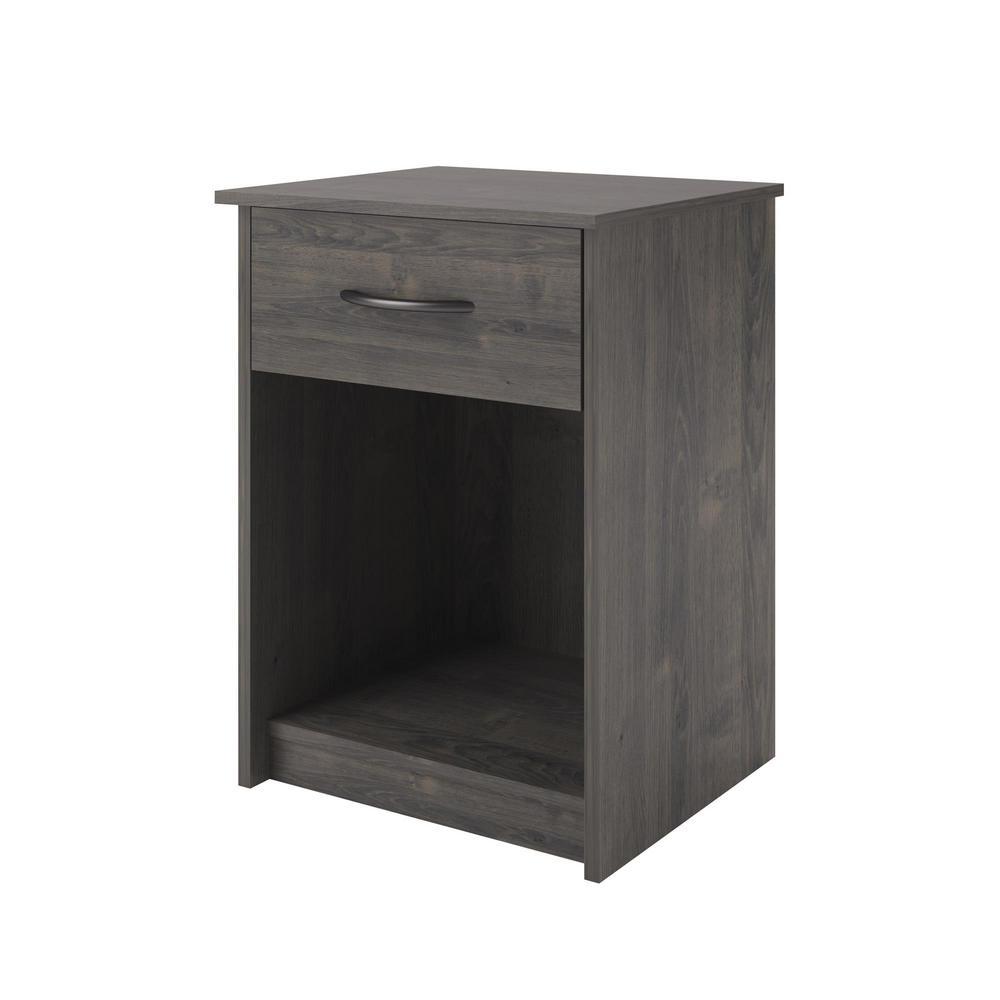 Southwood Dark Gray Oak Nightstand