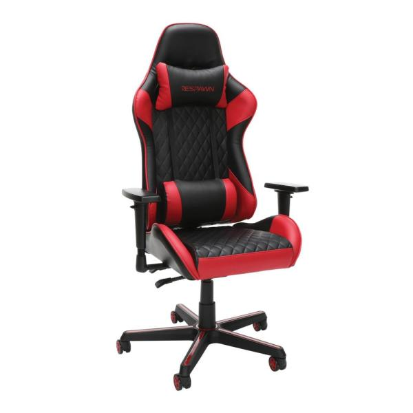 Unbranded 100 Racing Style Gaming Chair In Red Rsp 100 Red Rsp 100 Red The Home Depot