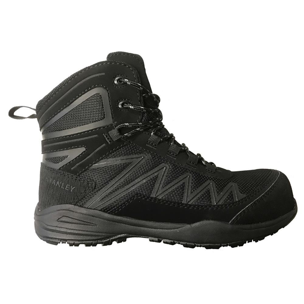 This review is from Breeze Mid Women s Size 9 Black Leather Mesh Composite  Toe 6 in. Work Boot 06e264e291