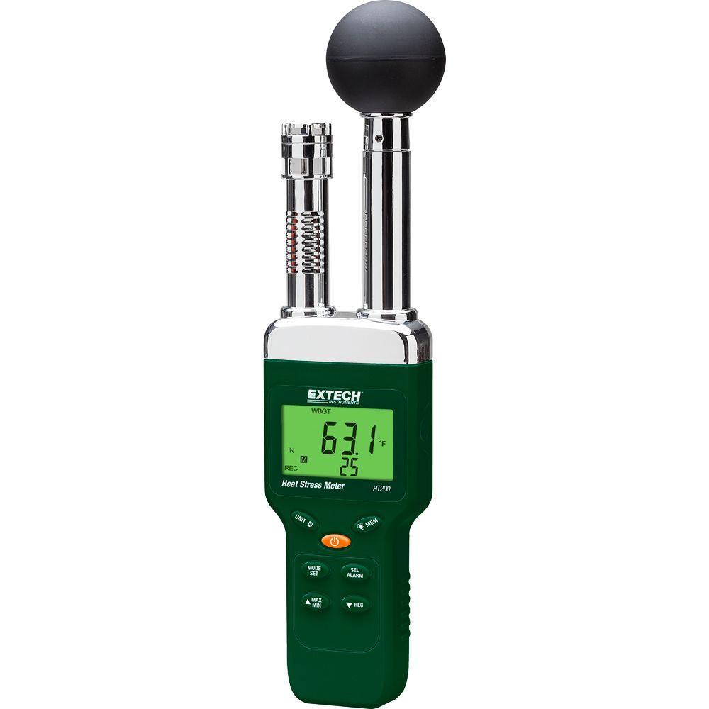 Extech Instruments Heat Stress WGBT Meter-HT200 - The Home Depot