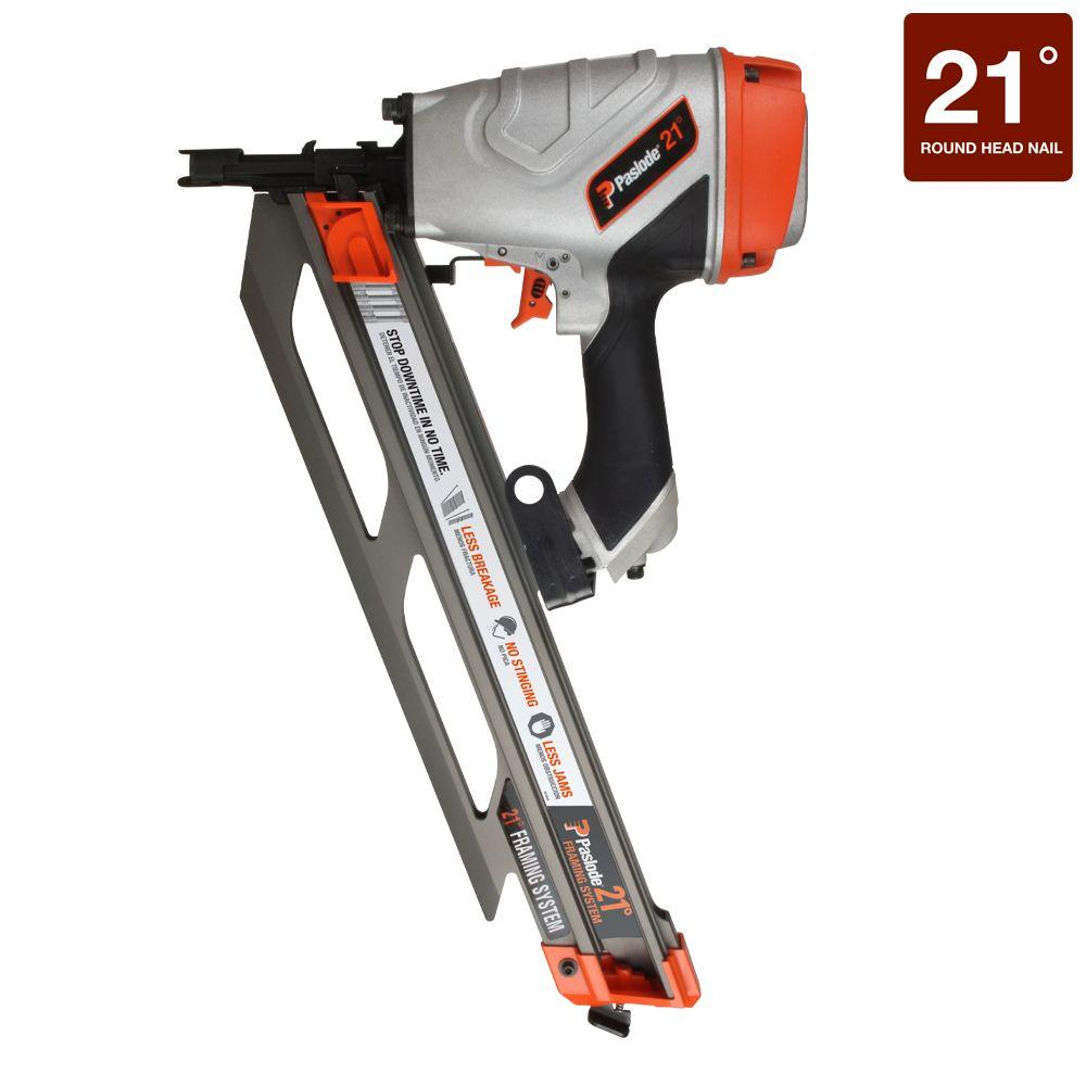 Paslode Pneumatic F350-21° Framing Nailer-514000 - The Home Depot