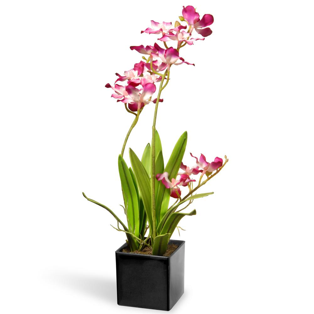 16 in. Purple Orchid Flowers
