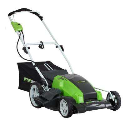 21 in. 13-Amp 2-In-1 Walk Behind Battery Push Mower