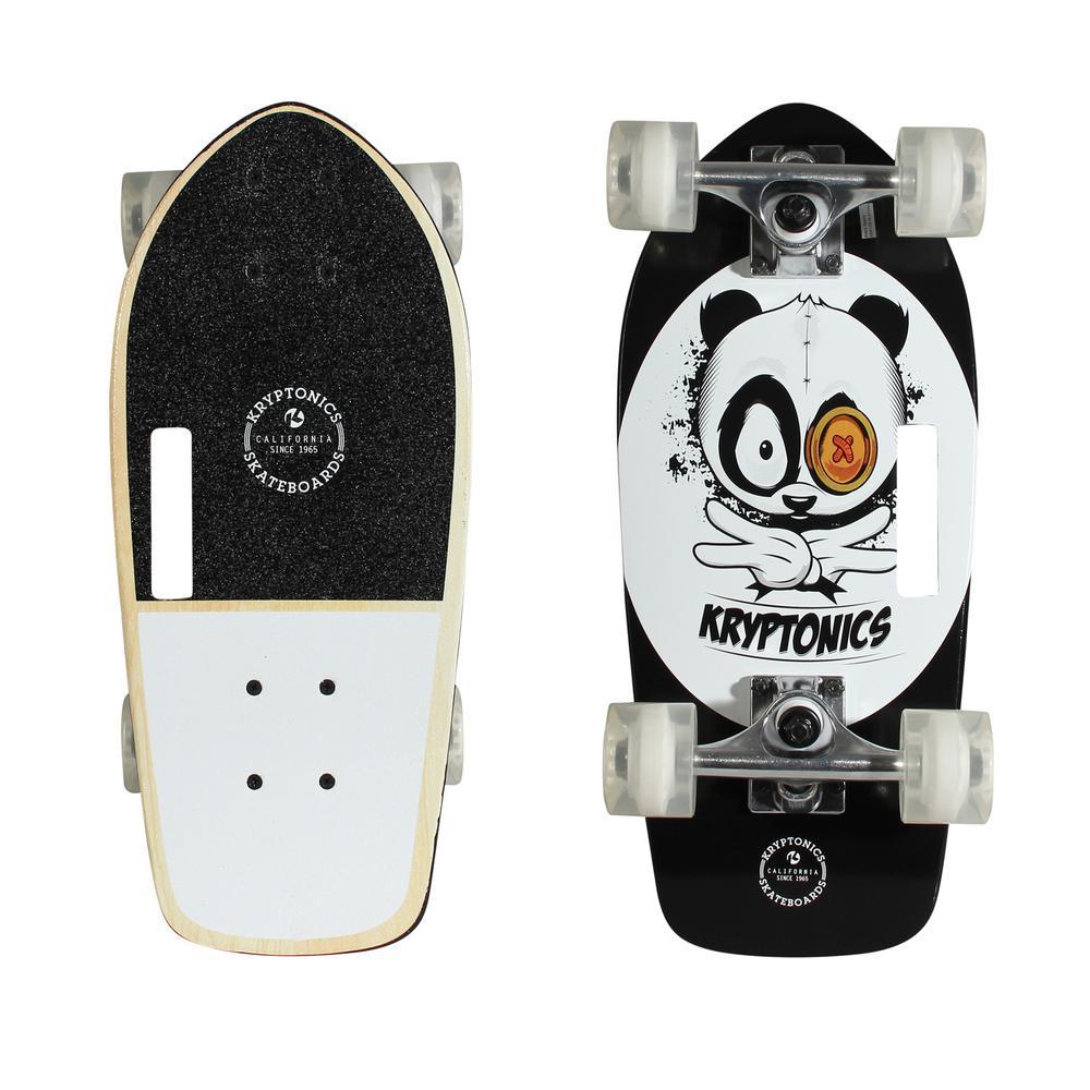 Stubby 19 in. Panda-Vibes Cruiser Skateboard